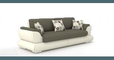 Kreminė sofa AYDER priekiu